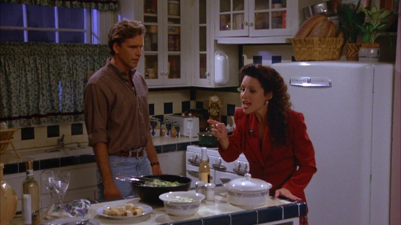 General Electric Refrigerator Used by Julia Louis-Dreyfus as Elaine Benes in Seinfeld Season 5 Episode 4 (8)