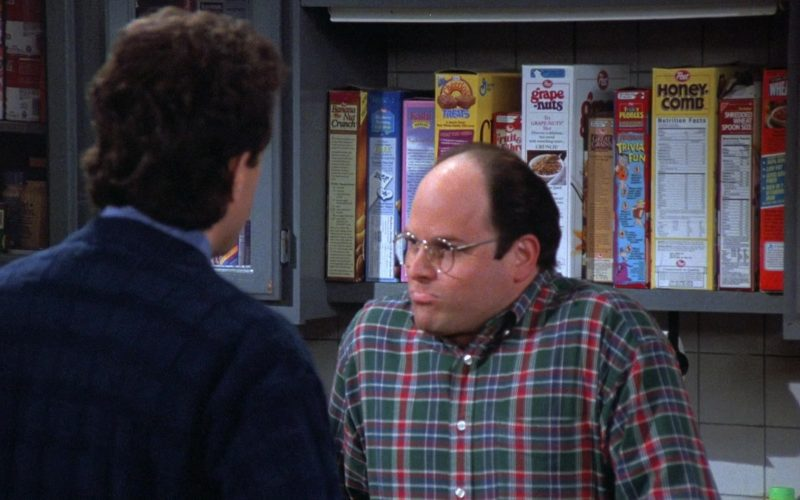 General Mills Cheerios and Post Cereals in Seinfeld Season 7 Episode 24 The Invitations