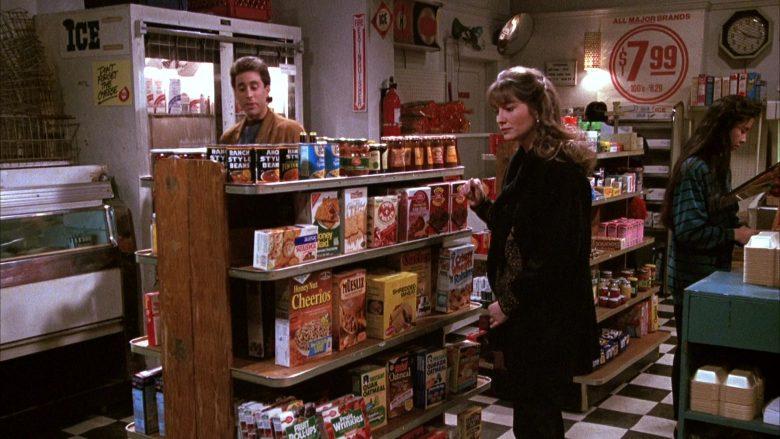 General Mills Honey Nut Cheerios Breakfast Cereal in Seinfeld Season 1 Episode 5