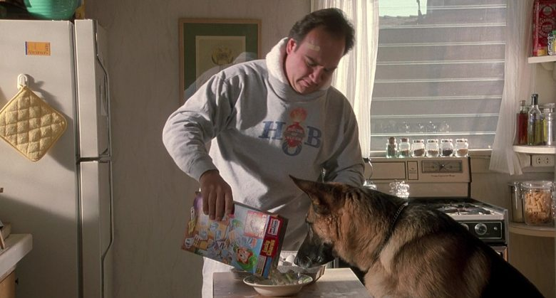 General Mills Lucky Charms Cereal Held by Jim Belushi in K-911 (2)