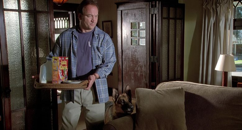 General Mills Lucky Charms Cereal Held by Jim Belushi in K-911 (3)