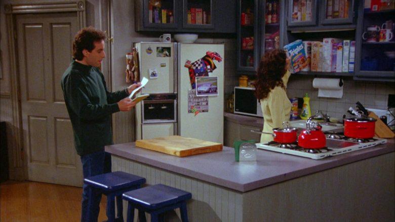 General Mills Triples Cereal Held by Julia Louis-Dreyfus as Elaine Benes in Seinfeld Season 5 Episode 20