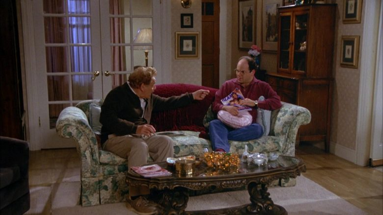 Glamour Magazine Held by Jason Alexander as George Costanza in Seinfeld Season 5 Episode 4 (1)