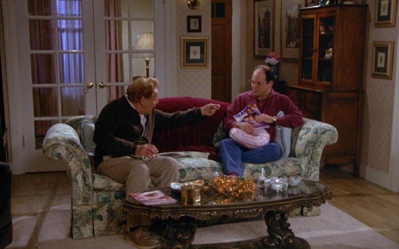 Glamour Magazine Held by Jason Alexander as George Costanza in Seinfeld Season 5 Episode 4 (1)