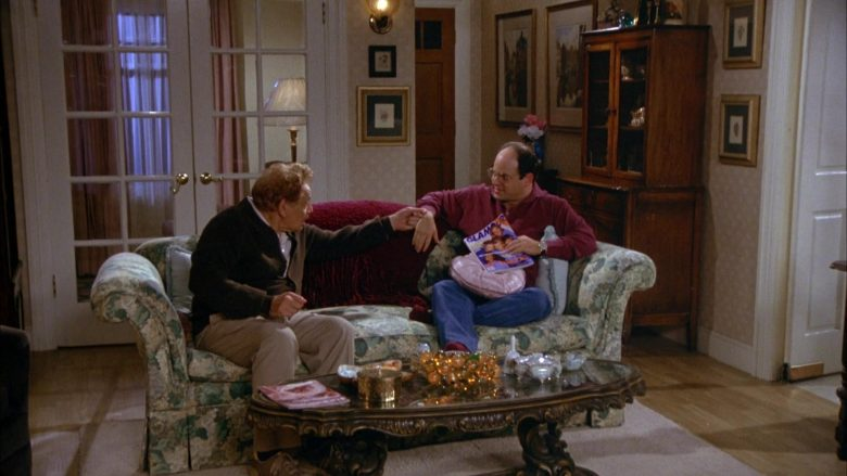 Glamour Magazine Held by Jason Alexander as George Costanza in Seinfeld Season 5 Episode 4 (2)