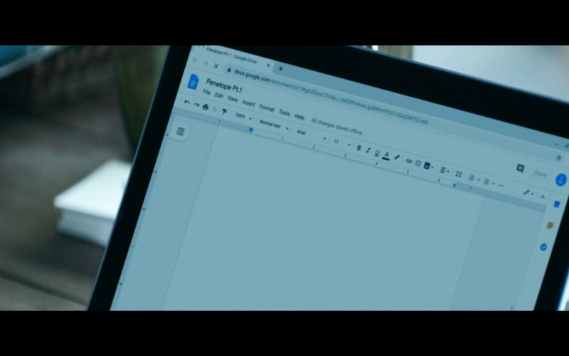 Google Docs in Tell Me a Story Season 2 Episode 1 The Curse