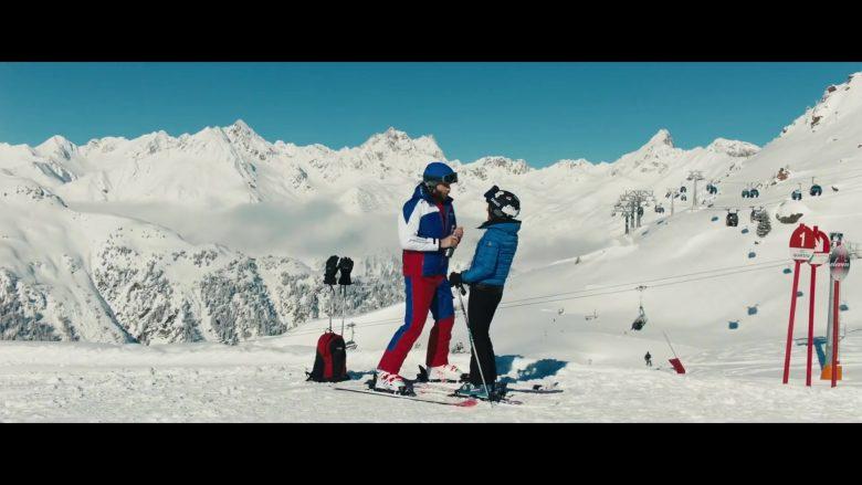 """HEY"""" Ski Jacket Worn by Giulio Berruti in Downhill (1)"""