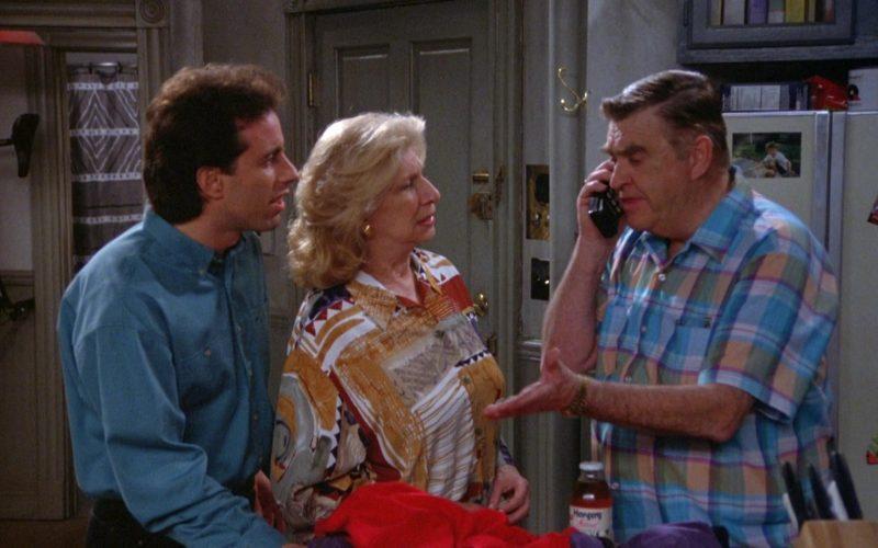 Hansen's Drink in Seinfeld Season 5 Episode 18-19 The Raincoats