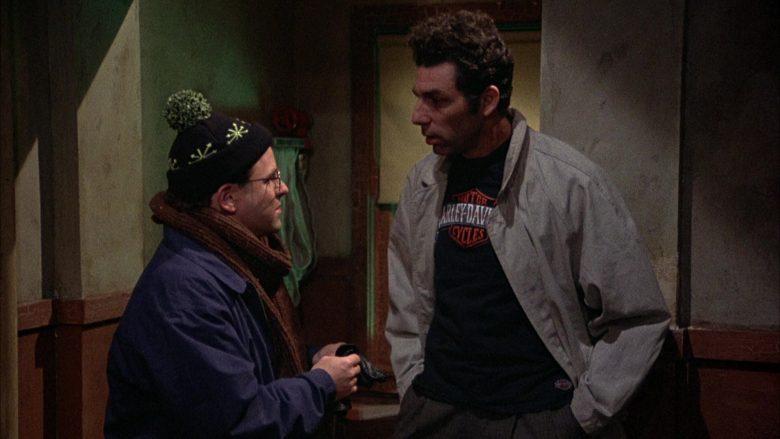 Harley-Davidson T-Shirt Worn by Michael Richards as Cosmo Kramer in Seinfeld Season 2 Episode 12 (1)