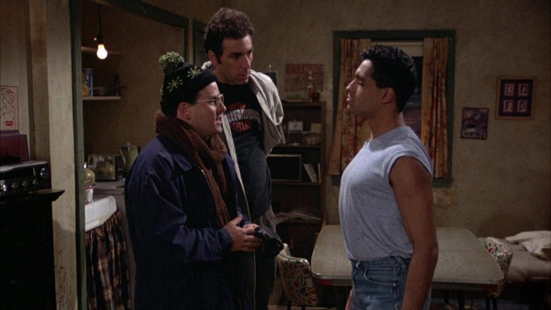 Harley-Davidson T-Shirt Worn by Michael Richards as Cosmo Kramer in Seinfeld Season 2 Episode 12 (2)
