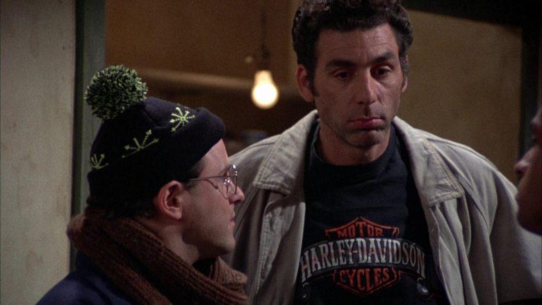 Harley-Davidson T-Shirt Worn by Michael Richards as Cosmo Kramer in Seinfeld Season 2 Episode 12 (4)