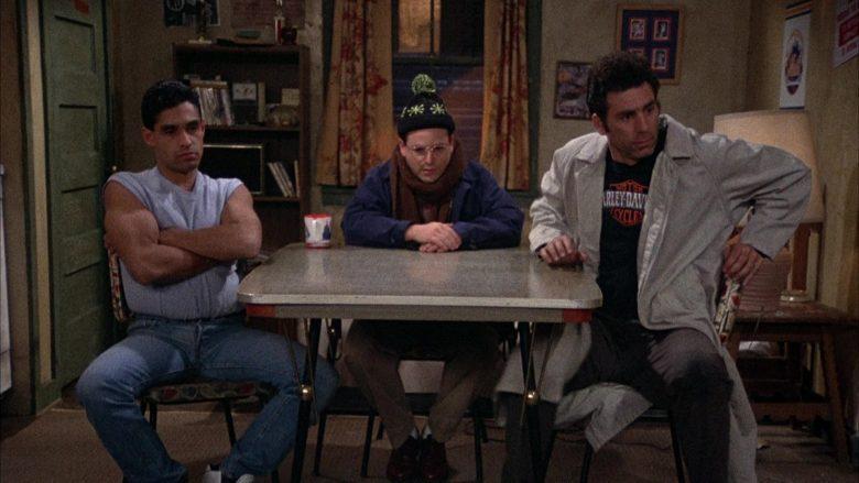 Harley-Davidson T-Shirt Worn by Michael Richards as Cosmo Kramer in Seinfeld Season 2 Episode 12 (5)