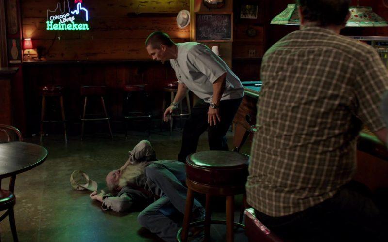 Heineken Beer Sign in Shameless Season 10 Episode 7 Citizen Carl (2)