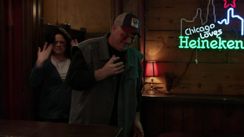 Heineken Neon Sign in Shameless Season 10 Episode 8 Debbie Might Be a Prostitute (3)