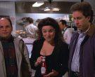 Heinz Ketchup Held by Julia Louis-Dreyfus as Elaine Benes in Seinfeld Season 4 Episode 16 (1)
