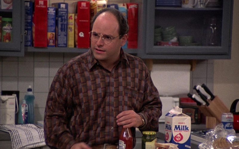Heinz Ketchup and Iris Cola Can in Seinfeld Season 2 Episode 12 The Busboy