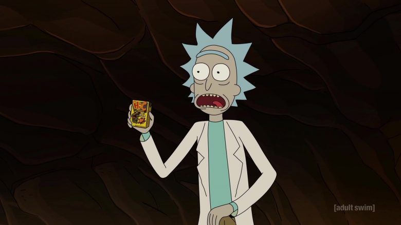Hi-C Juice in Rick and Morty Season 4 Episode 4 (2)