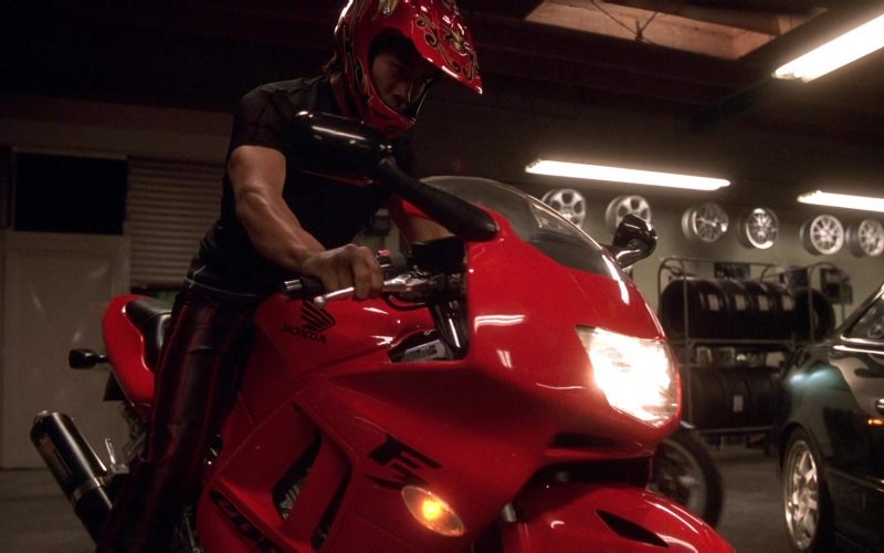 Honda Red Motorcycle in The Fast and the Furious