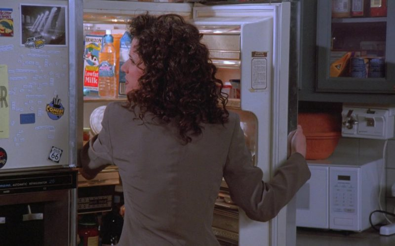 Horizon Milk and Comedy Central Sticker in Seinfeld Season 7 Episode 16 The Shower Head (1)
