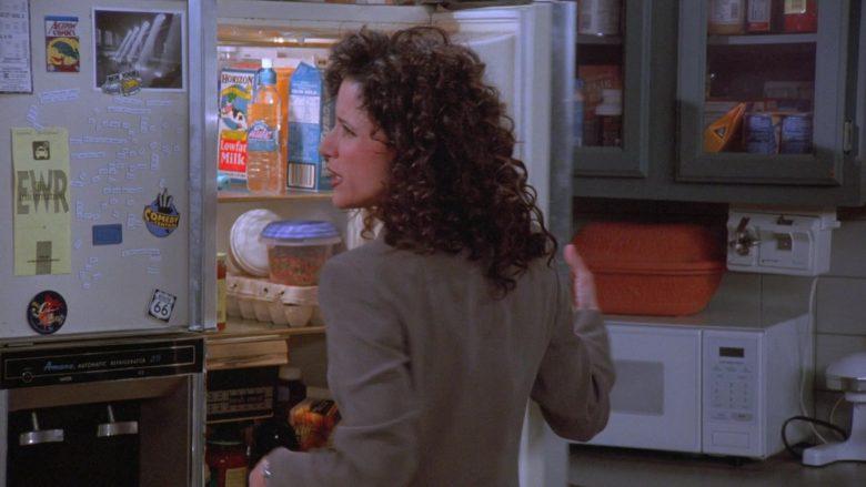 Horizon Milk and Comedy Central Sticker in Seinfeld Season 7 Episode 16 The Shower Head (2)
