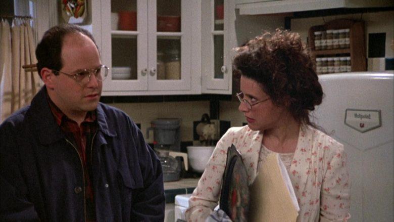 Hotpoint Refrigerator Used by Julia Louis-Dreyfus as Elaine Benes in Seinfeld Season 3 Episode 23