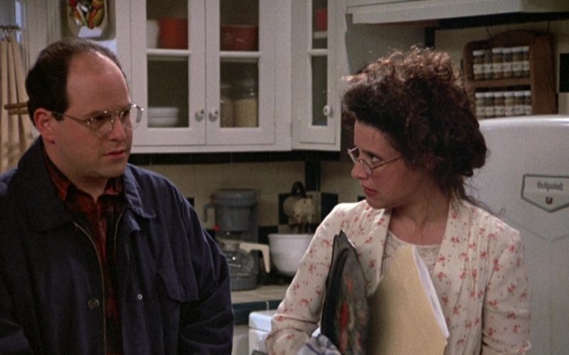 Hotpoint Refrigerator Used by Julia Louis-Dreyfus as Elaine Benes in Seinfeld Season 3 Episode 23