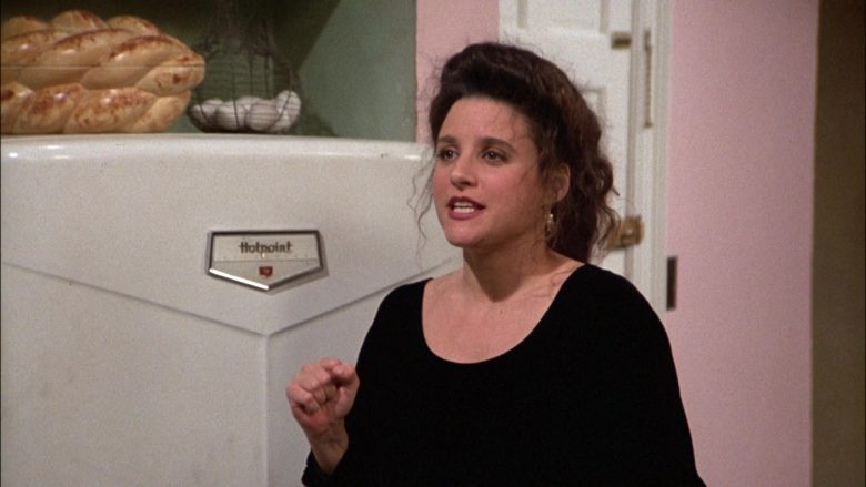 Hotpoint Refrigerator Used by Julia Louis-Dreyfus as Elaine Benes in Seinfeld Season 6 Episode 14-15 The Highlights of 100 (3)