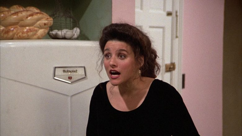 Hotpoint Refrigerator in Seinfeld Season 3 Episode 16 The Fix-Up (1)