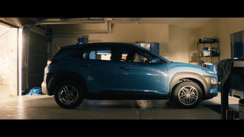 Hyundai Kona Blue Car in Tell Me a Story Season 2 Episode 4 Number One Fan (1)