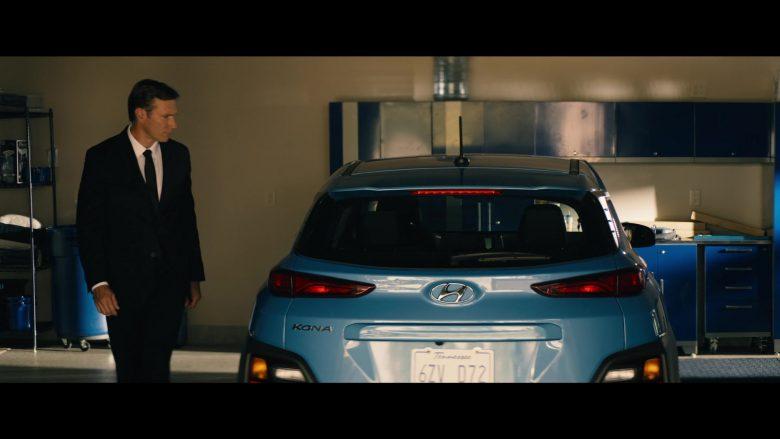 Hyundai Kona Blue Car in Tell Me a Story Season 2 Episode 4 Number One Fan (2)
