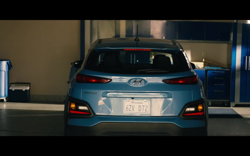 Hyundai Kona Blue Car in Tell Me a Story Season 2 Episode 4 Number One Fan (3)