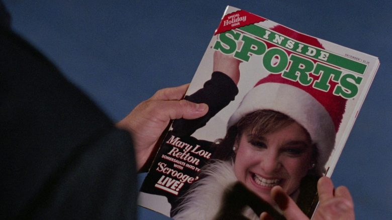 Inside Sports Magazine in Scrooged