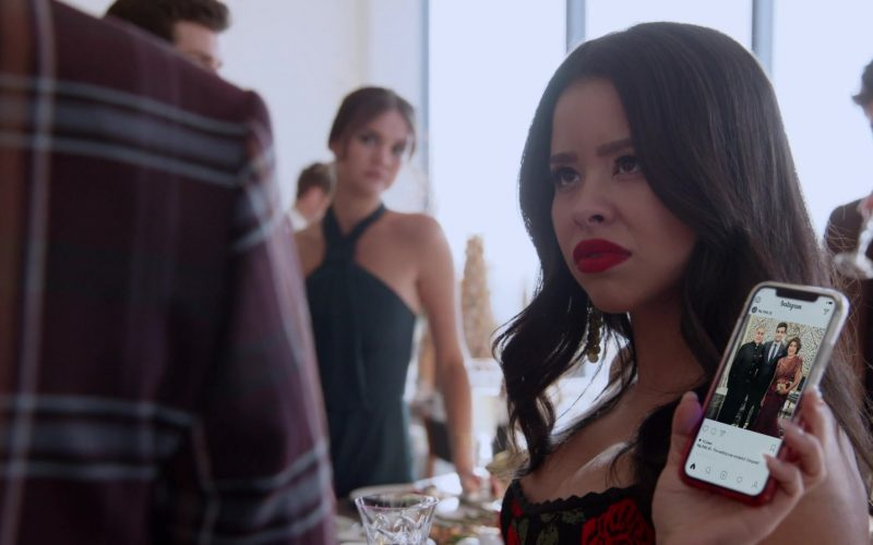 Instagram App Social Network Used by Cierra Ramirez as Mariana Adams Foster in Good Trouble Season 2 Episode 9
