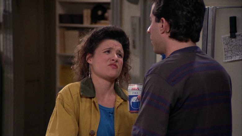 Iris Cola Enjoyed by Jerry Seinfeld in Seinfeld Season 2 Episode 12 The Busboy (1)