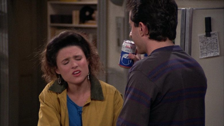 Iris Cola Enjoyed by Jerry Seinfeld in Seinfeld Season 2 Episode 12 The Busboy (2)