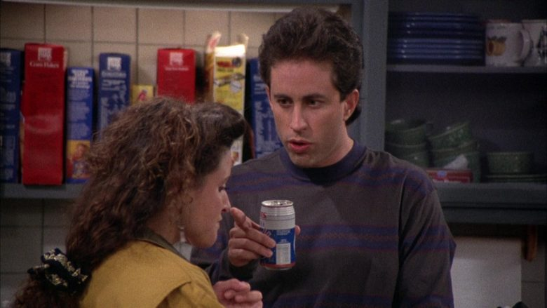 Iris Cola Enjoyed by Jerry Seinfeld in Seinfeld Season 2 Episode 12 The Busboy (3)