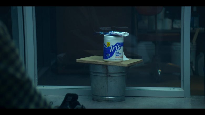 Iris Hand Sanitizing Wipes in YOU Season 2 Episode 2 Just The Tip