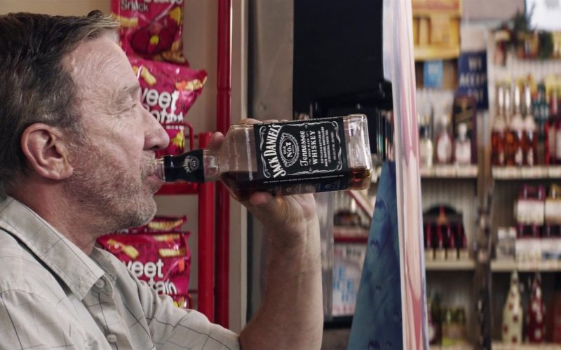 Jack Daniel's Tennessee Whiskey Enjoyed by Tim Allen in El Camino Christmas Movie