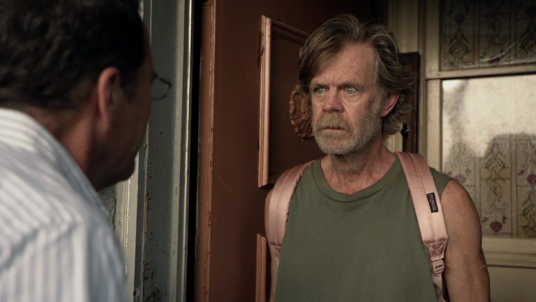 JanSport Pink Backpack Used by William H. Macy as Frank Gallagher in Shameless Season 10 Episode 5 Sparky