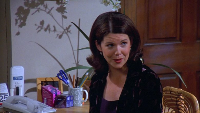 Jergens Ultra Healing Extra Dry Skin Moisturizer in Seinfeld Season 8 Episode 20 The Millennium (2)