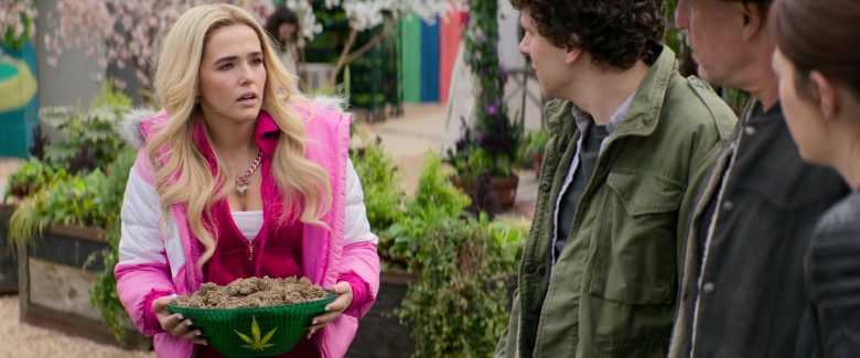 Juicy Couture Tracksuit Worn by Zoey Deutch in Zombieland Double Tap (4)