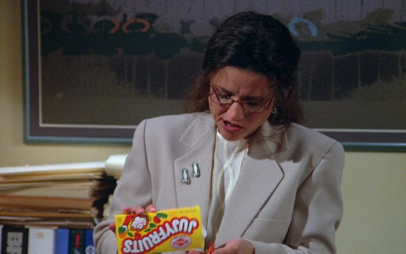 Jujyfruits Candies Enjoyed by Julia Louis-Dreyfus as Elaine Benes in Seinfeld Season 5 Episode 22 (10)