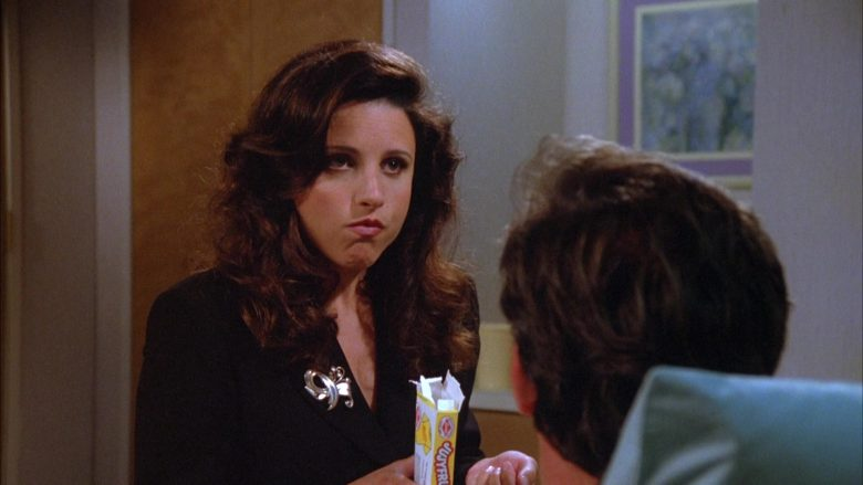Jujyfruits Candies Enjoyed by Julia Louis-Dreyfus as Elaine Benes in Seinfeld Season 5 Episode 22 (3)