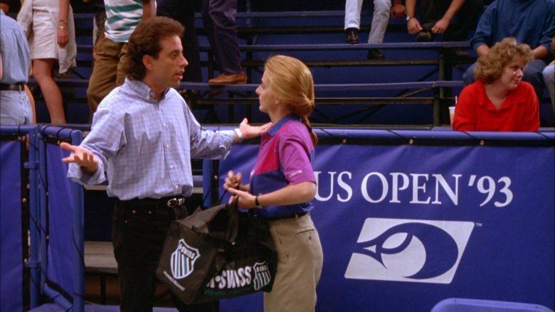 K-Swiss Bag in Seinfeld Season 5 Episode 6 The Lip Reader