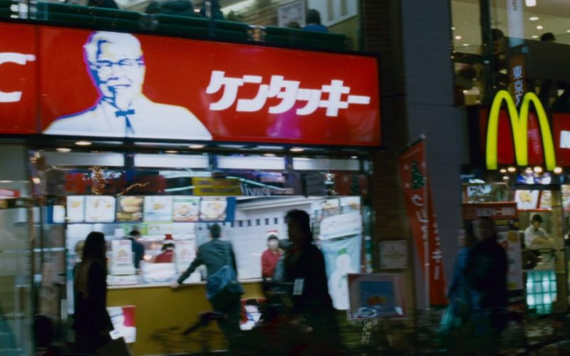 KFC and McDonald's Restaurants in The Fast and the Furious Tokyo Drift