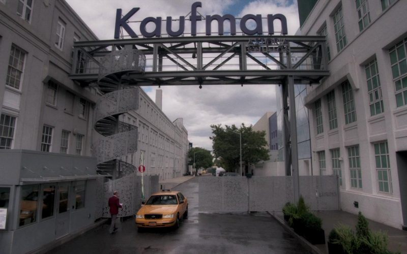 Kaufman Astoria Studios in A Rainy Day in New York