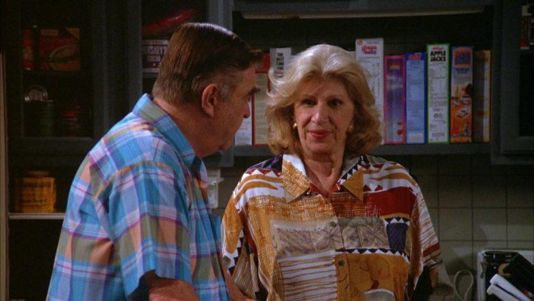 Kellogg's Apple Jacks Cereal in Seinfeld Season 5 Episode 18-19 The Raincoats