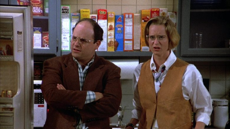 Kellogg's Apple Jacks, Cheerios, Trix Cereals in Seinfeld Season 4 Episode 3