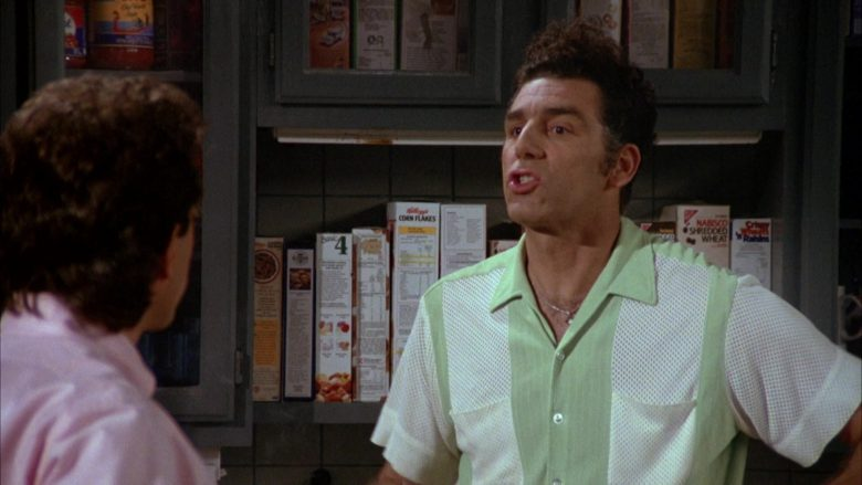 Kellogg's Corn Flakes and Nabisco Shredded Wheat in Seinfeld Season 5 Episode 1 (2)