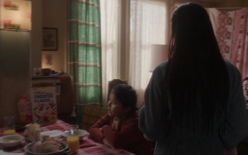 Kellogg's Frosted Flakes Cereal in For All Mankind Season 1 Episode 9 Dangerous Liaisons